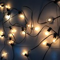 2016 Christmas Season G40 Globe Light String, Outdoor Waterproof String Light, 15M 50Bulbs Garland for Patio/Backyard/Wedding