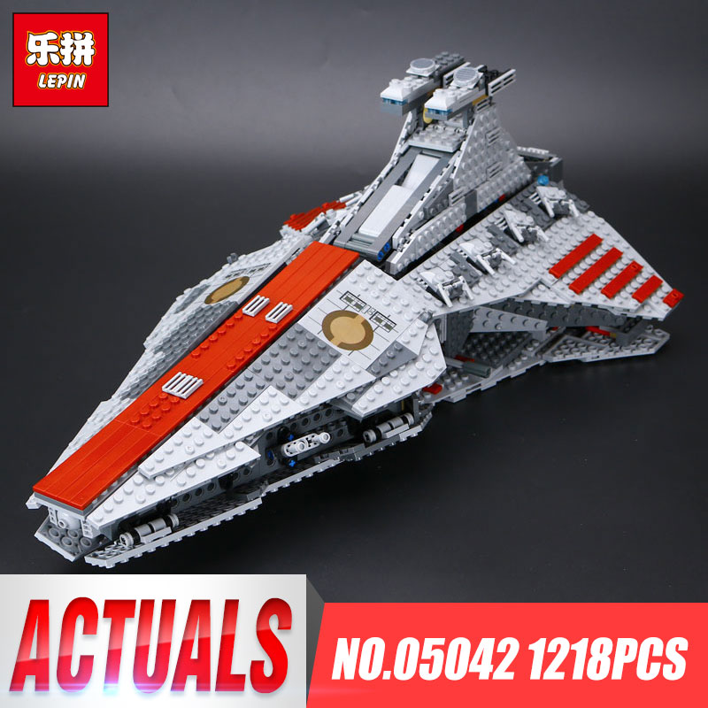 Lepin 05042 New Star Series Wars The Republic GIft Fighting Toys Cruiser Set Building Blocks Bricks Educational Gifts Toys 8039 new lp2k series contactor lp2k06015 lp2k06015md lp2 k06015md 220v dc
