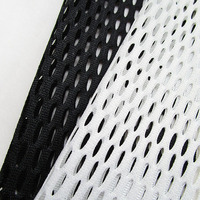 French Casual Sport Baseball Jersey Mesh Fabric Cosplay Patchwork Skirt Clothes Net Fabric Sewing Diy Gift