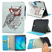 Smart PU Leather Case For Samsung Galaxy Tab A 9 7 SM T550 SM T555 T550