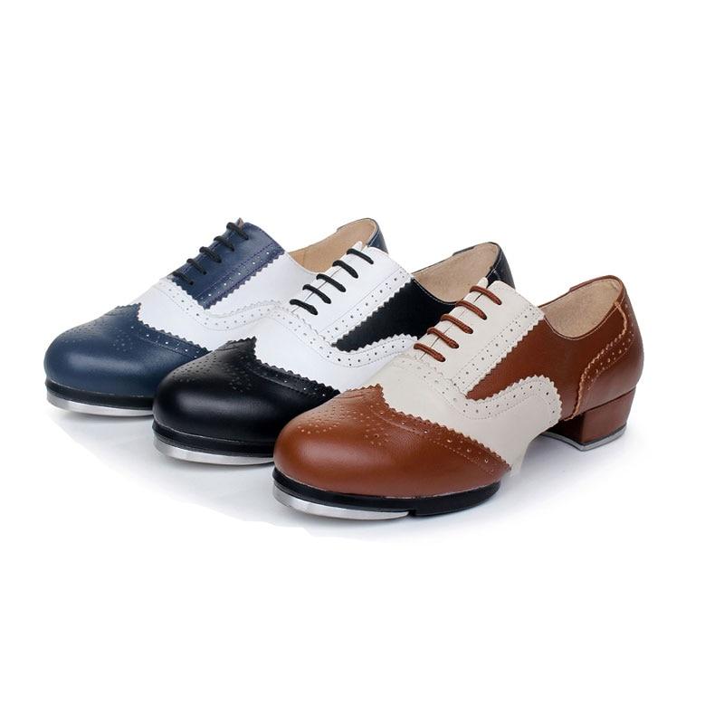 Férfi cipő cipők sport nők valódi bőr csapok tánc cipő színes egyezés csipke lélegző kiváló minőségű alumínium gumi talp