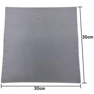 Image 2 - 1pc chłonny ręcznik z mikrofibry samochód ściereczki do czyszczenia osuszania szmatka do pielęgnacji samochodu Detailing myjnia 30x30cm kolor losowo