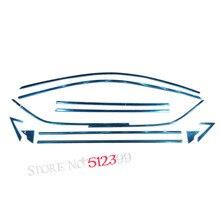 Accessiores! 12 шт. полный комплект подоконник без центрального столп литья крышка планки Автомобиль Стайлинг для Toyota C-HR chr 2016 2017