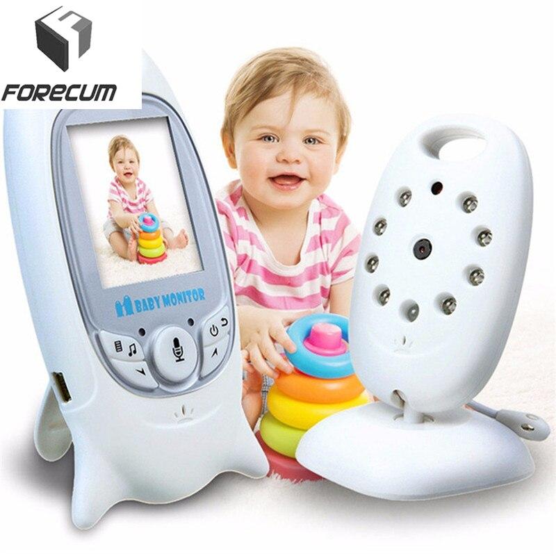 Forecum 無線デジタルビデオベビーモニターカメラ Lcd ディスプレイ監視モニター自動ナイトビジョン監視カメラ  グループ上の セキュリティ & プロテクション からの ベビーモニター の中 1