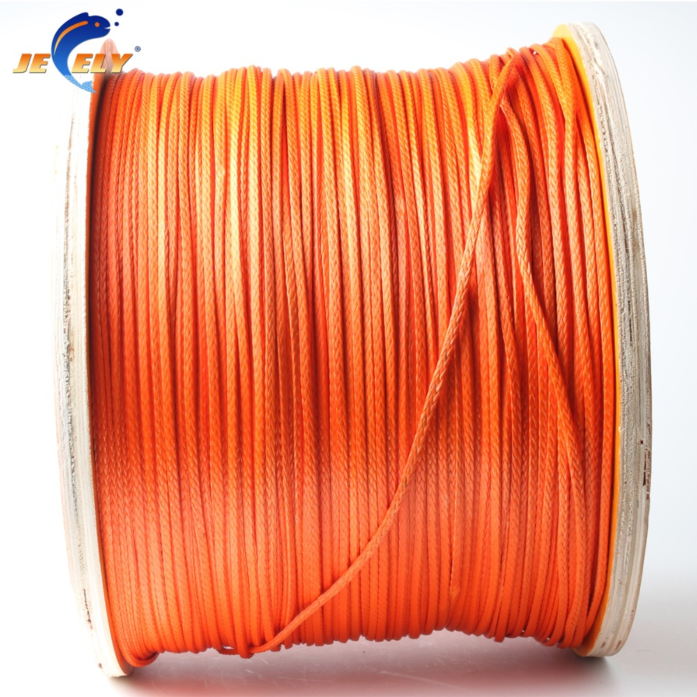 Jeely 10M <font><b>2000LB</b></font> uhmwpe fiber braid Flat spearfishing gun reel line 2.8mm 16 weave image