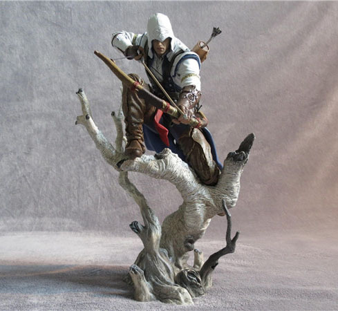 Free Shipping Cool 10 Assassin's Creed III Connor Boxed PVC Action Figure Limited Edition Collection Model Toy Gift chickenfoot chickenfoot chickenfoot iii limited edition cd dvd