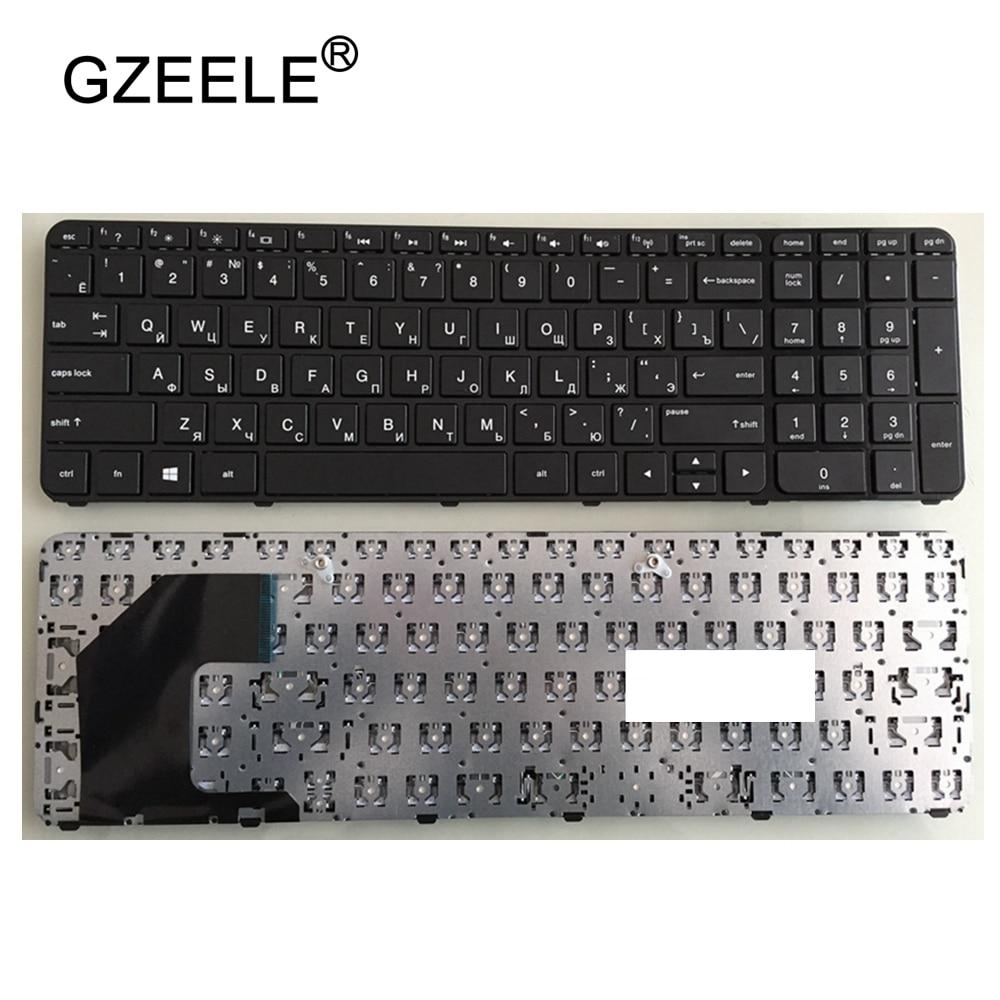 GZEELE Russian Keyboard For HP Pavilion Sleekbook 15-B183 15 15-b000 15-b100 15T-B 15t-b100 15t-b000 15Z-B 15-B058SR U36 RU
