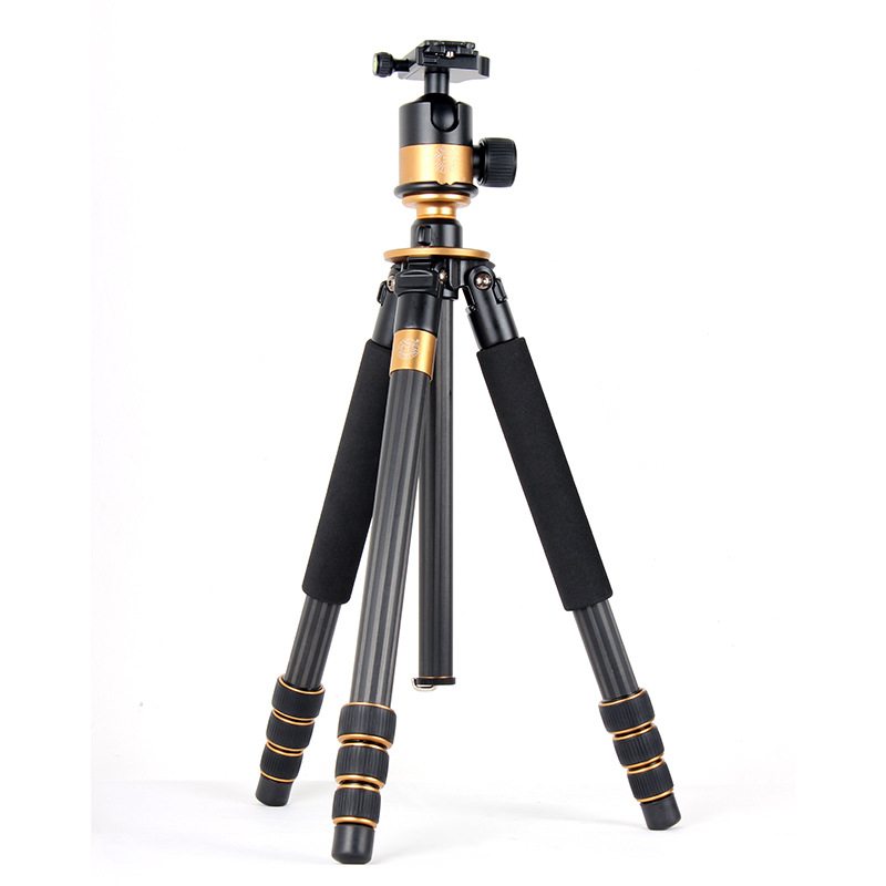 Q1000C profesionalus trikojis stovas, skirtas DSLR - Fotoaparatas ir nuotrauka