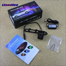 Liandlee Car Tracing Cauda Laser Light For Nissan Pulsar C12 Hatchback 2011~2015 Special Anti Fog Lamps Rear collision Lights цена