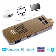 Мини-ПК Hi больше intel 4-процессор USB 3.0 Bluetooth 4.0 Windows 10 системы Портативный хорошее качество Бесплатная доставка