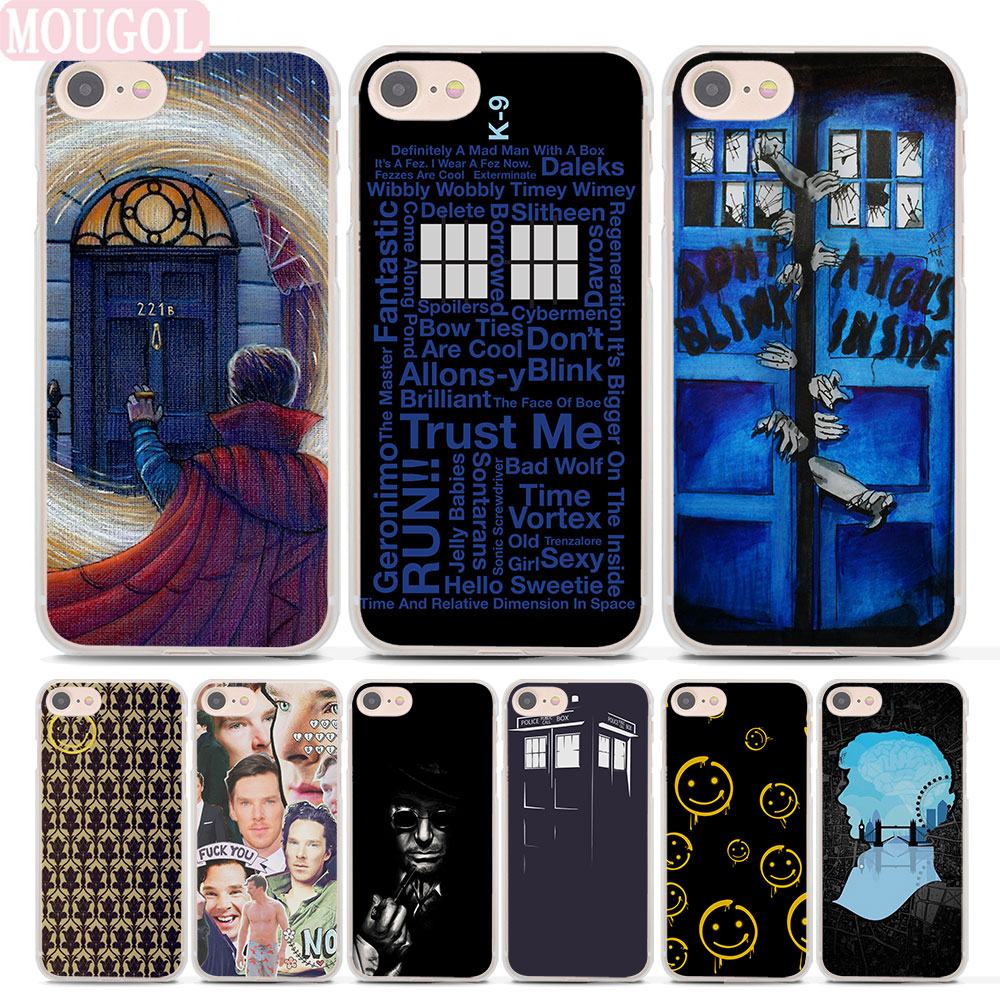 Cellphones & Telecommunications Humor Coque Sherlock Doctor Who Capa Soft Tpu Silicone Phone Cover For Iphone 7 7plus Case For Iphone 5s 5 Se 6 6s Plus 5c 4s 4 Cases.