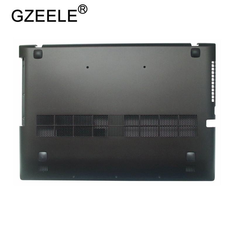 GZEELE New For Lenovo Z500 P500 Bottom Base Cover Case lower case Bottom Base Chassis D Cover Case shell