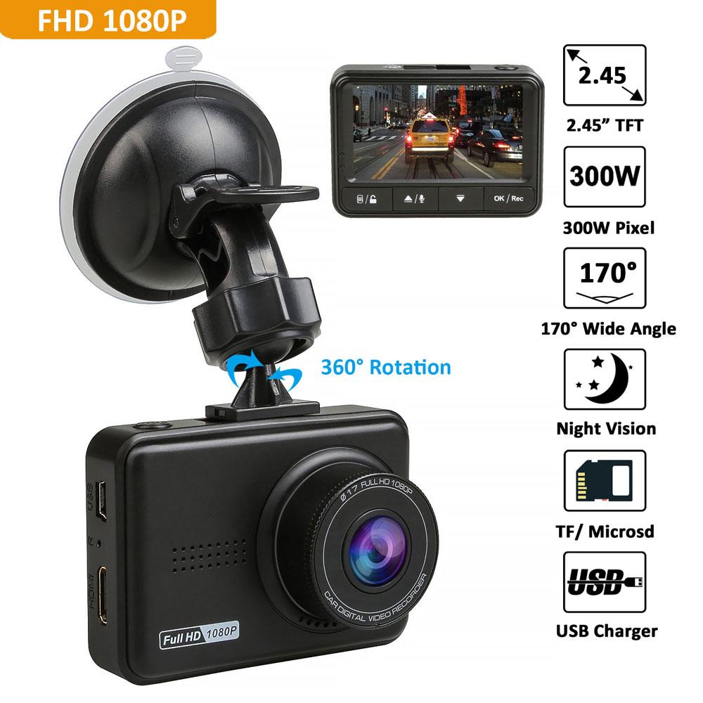 Car DVR Camera Novatek+ SONY IMX 323 Lens 170 Degree Dash Cam Video Recorder Full HD 1080P Camcorder DVRs G-sensor Night Vision digitalboy 2 7inch car dvr super hd 1440p resolution 170 degree with gps logger car video recorder camcorder dash camera dvrs