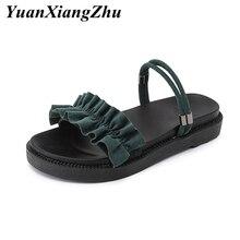 summer womens sandals flat shoes woman slippers roman platform femme sandalias buty damskie Plus Size zapatos de mujer