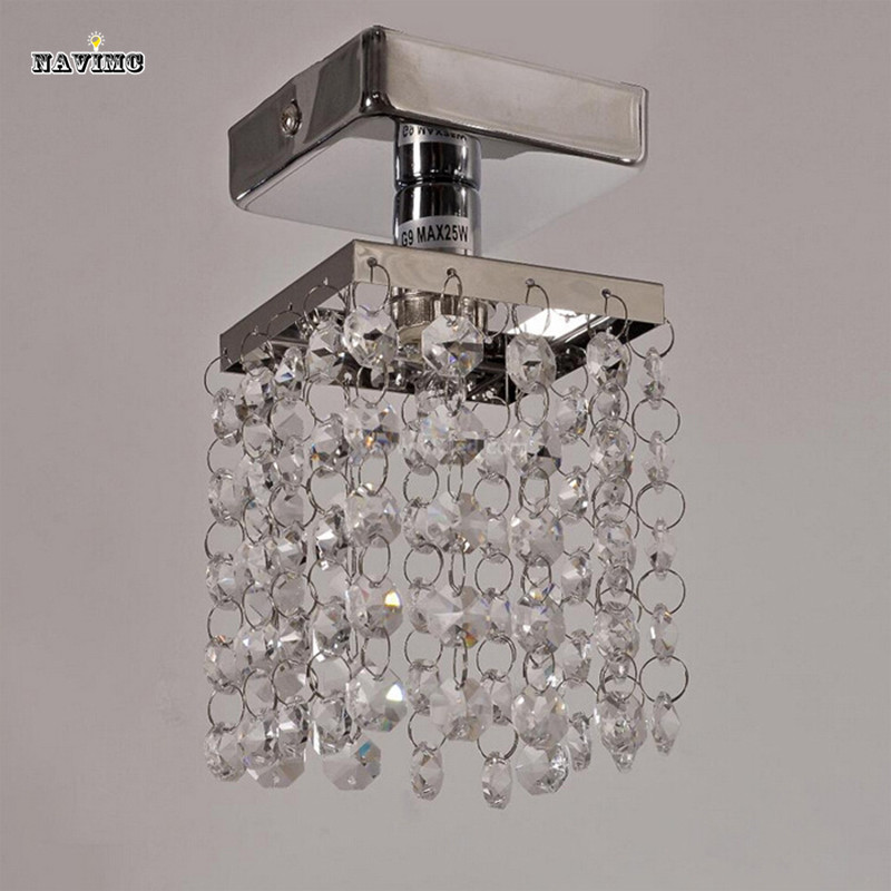 Crystal Ceiling Lights Bedroom Dining Room Crystal