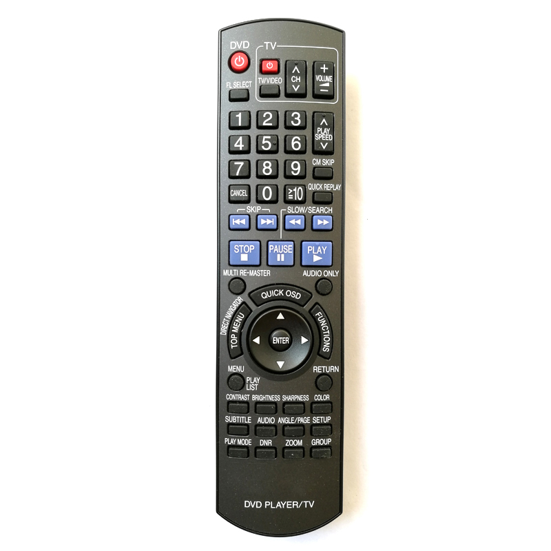 new original remote control for panasonic n2qayb000198 dvd. Black Bedroom Furniture Sets. Home Design Ideas