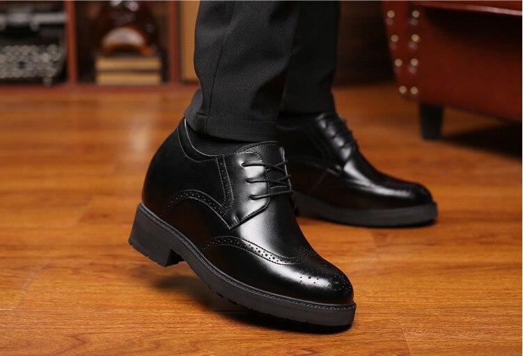 Броги из натуральной коровьей кожи; деловая Свадебная обувь; мужская повседневная обувь на плоской подошве; винтажные оксфорды ручной рабо... - 6