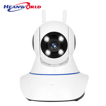 Pan tilt wifi camera hd 720p home security camera p2p good signal rotatable ip camera remote by android and iphone