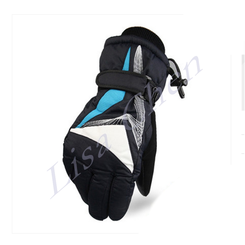 Warm winter riding font b gloves b font for men and women winter warm waterproof outdoor