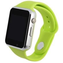 Freies verschiffen a1 armbanduhr bluetooth smart watch sport pedometer mit sim kamera smartwatch für android smartphone russland dutch
