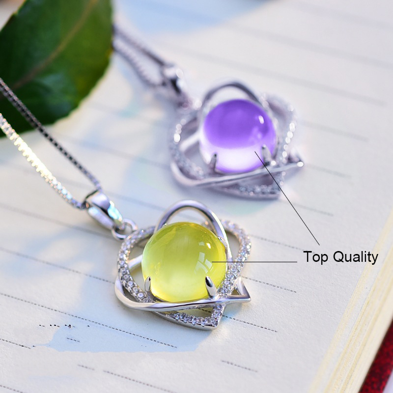 925 silver heart pendants necklaces jewelry (7)