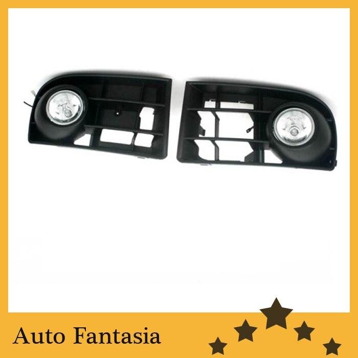 Передняя противотуманная фара Комплект для Volkswagen Гольф mk5 -бесплатная доставка