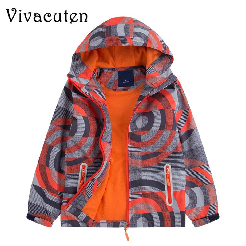 купить New Autumn Kids Boy Outerwear Sport Waterproof Windproof Hooded Jackets For Children Boys Jackets Cool Coats Spring Winter Tops
