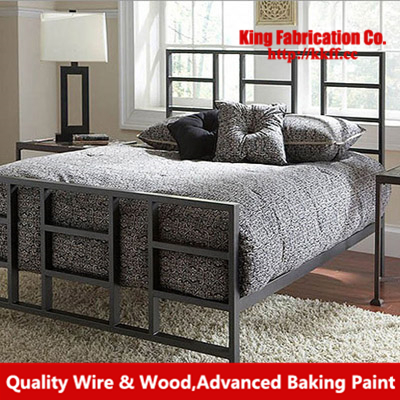 Camas de hierro forjado camas dobles 1.8 m 1.5 m 1.2 m cama cama ...
