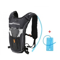 Roswheel 2L Straw Water Bag Backpack Men And Women Surperlaight Hiking Running Cycling Water Bladder Backpack