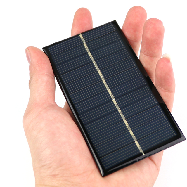 Solar Panel Portable Mini 6V 1W Sunpower DIY Module Panel System For Solar Lamp Battery Toys Phone Charger 110*60mm Solar Cells