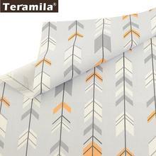 Teramila серые 100% хлопчатобумажные Саржевые ткани telas algodon