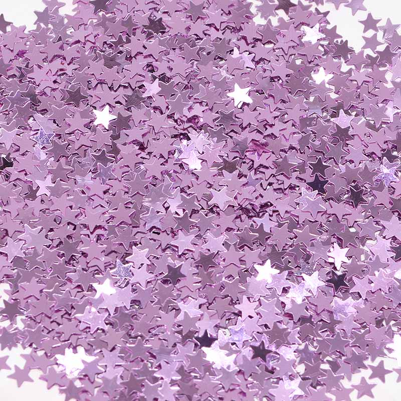 Purple Confetti Stars Table Decorations Fill Birthday Cards Invitations Gift Bag