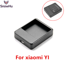 Купить с кэшбэком SnowHu for Xiaomi Yi Battery Charger USB Dual Port Battery Charger for Xiaomi Yi action camera accessories for yi 1 GP231