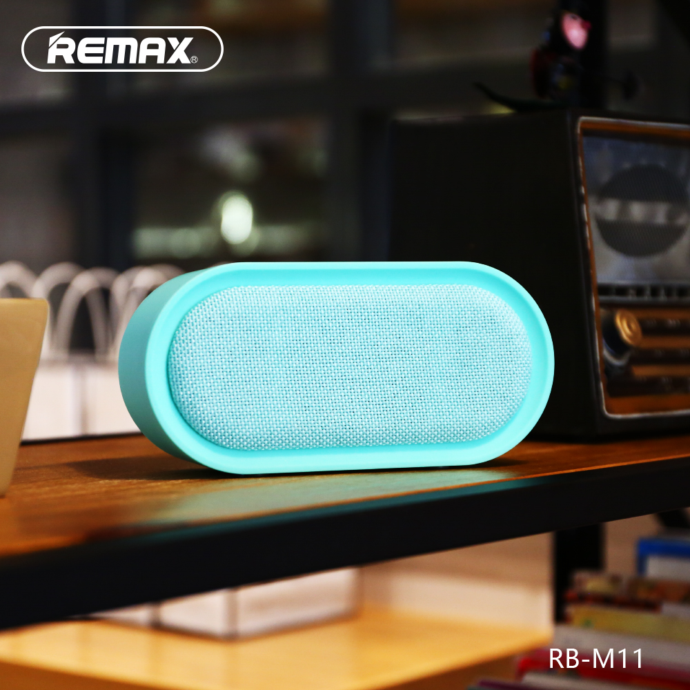 Remax Rb M11 Portable Desktop Wireless Bluetooth Speaker Support Tf Type M23 Series Grey Aux Sound Box For Iphone Samsung Xiomi Bookshelf Loudspeaker In Speakers From