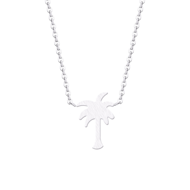Cute Palm Tree Necklace
