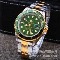 Luxury Reginald Watch Men Rotatable Bezel GMT Sapphire Glass Date Stainless Steel Women Mens Sport Quartz