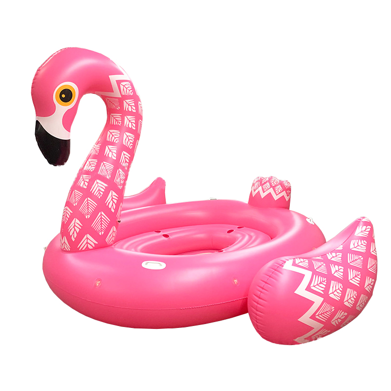 3 m piscine énorme gonflable Unorn pour 4 personnes piscine flotteur gonflable Flamingo Air matelas île eau repos jouets amusants