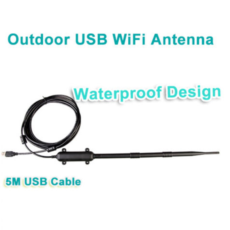 Image 5 - High Power Outdoor WiFi Antenna 150Mbps USB Wireless Wifi Adapter 1KM Distance Amplifier Omni directional Wireless Network Card-in Network Cards from Computer & Office