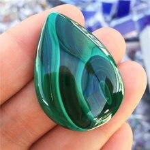 1pcs beautiful natural malachite wholesale DIY necklace natural gem birthday gift