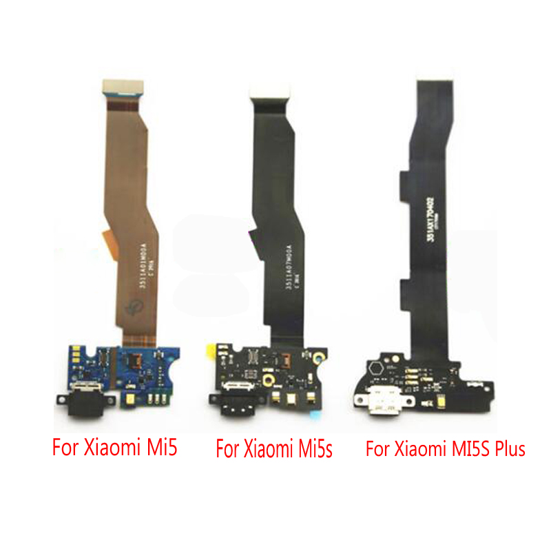 New Original Micro Microphone USB Charging Port Dock Charger Flex Cable Ribbon  For Xiaomi Mi 5 Mi5 Mi5s  Plus