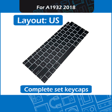 10set/Lot A1932 Replacement Keycap key US Layout for Macbook Air Retina 13″ A1932 Complete set keycaps 2018 MRE82