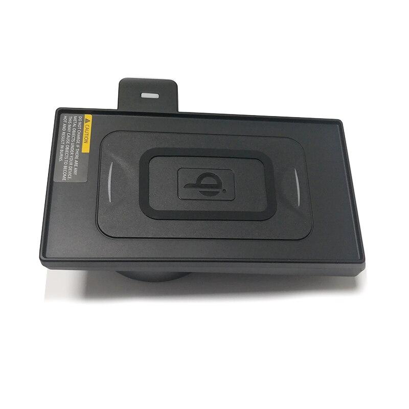 Per BMW X5 F15 X6 F16 10W car charger QI wireless caricatore del telefono mobile senza fili di ricarica veloce caso accessori per iPhone 8 11 - 4