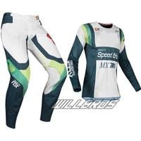 2019 360 Murc MX Racing Green Gear Set Adult Motocross Dirt Bike Jersey Pants Combo