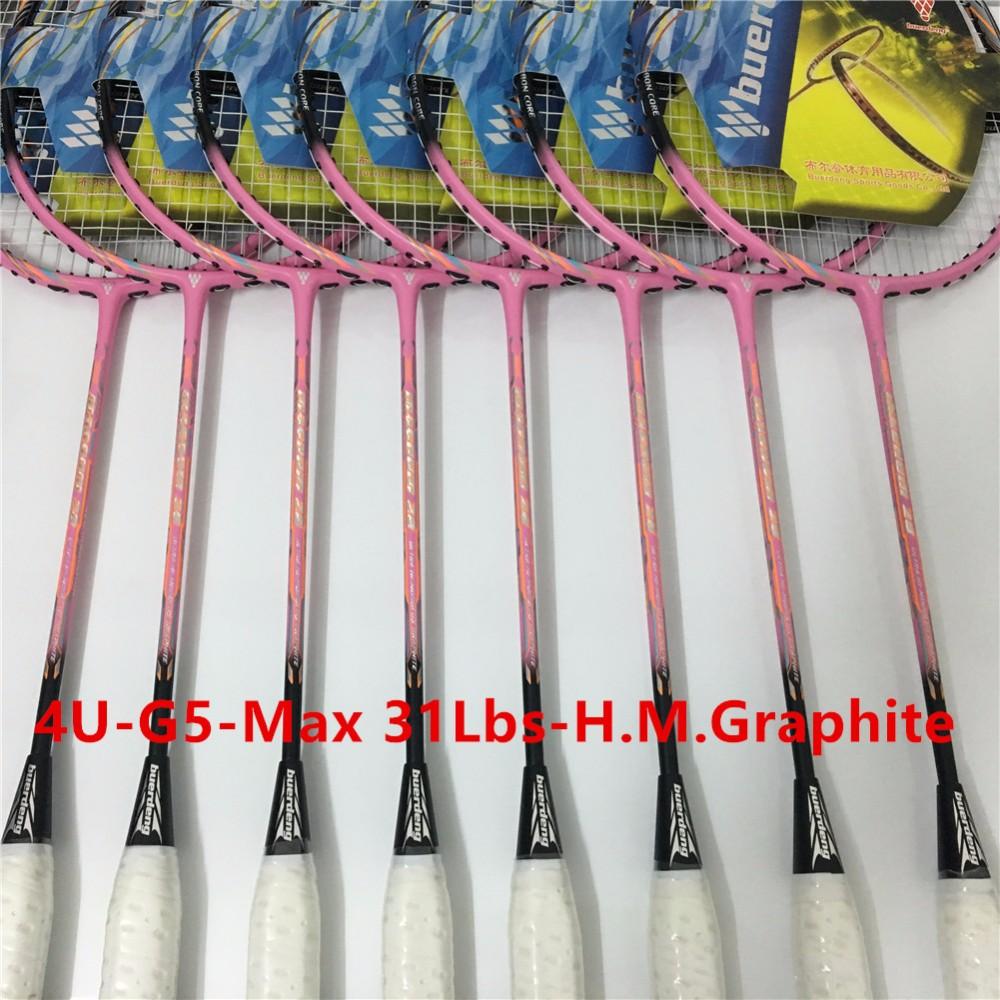 Women badminton racquet 4U professional badminton racket G5 carbono badminton rackets racquets