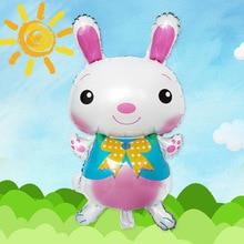 Easter Toys Big Rabbit Foil Balloons Cartoon Animal Balloon  Helium Party Favors Birthday Decorations Kids