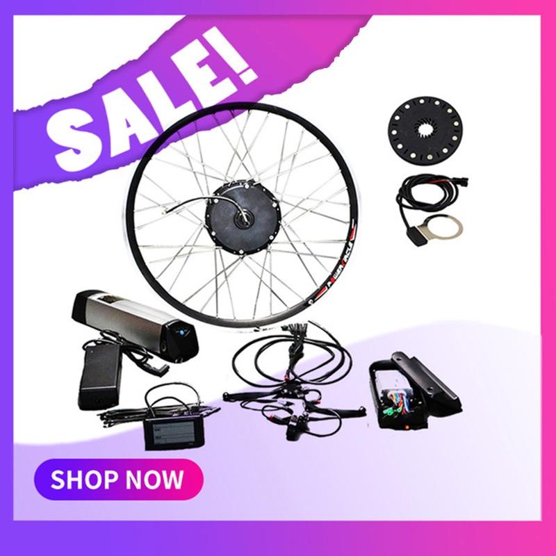 Free Shipping 36v  48v 250w  350w  500w Electric Bike Kit For