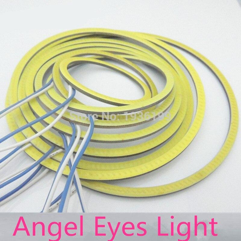 Ümidli Avtomobil COB Angel Gözləri 140mm 1aylıq Avtomatik Halo - Avtomobil işıqları - Fotoqrafiya 2