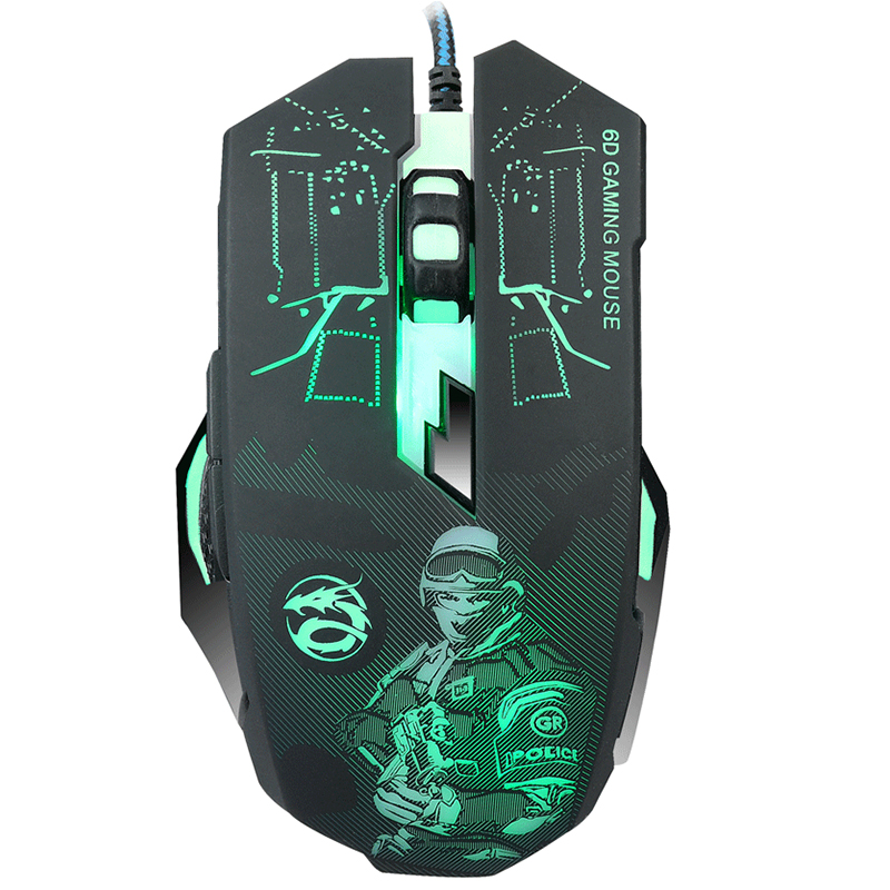 Professional Wired 6D Gaming Mouse 6 Button USB Office Computer Mouse Mice Ergonomic Optical Mouse For PC Laptop Computer