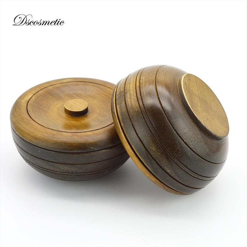 Man Wooden Shaving  Bowl Shave Soap Cup Man Wood Shaving Mug