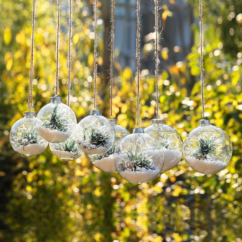 Aliexpress.com : Buy Christmas Glass Ornament Ball with ...